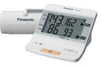 Panasonic EW-BU15 bloeddrukmeter bovenarm